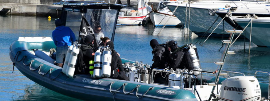 Technisches tauchen wreck i milford haven italien - Tech dive arenzano ...